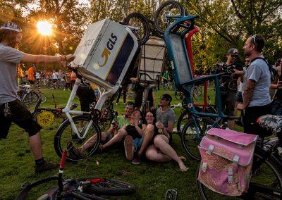 4. I bike Budapest | bringás felvonulás a Magyar Kerékpárosklub szervezésében